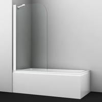 Шторка в ванну WasserKRAFT Leine 35P01-80WHITE Fixed