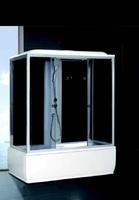 Душевая прямоугольная кабина с ванной Fiinn F413