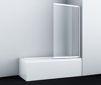 Шторка в ванну WasserKRAFT Main 41S02-100R Matt glass