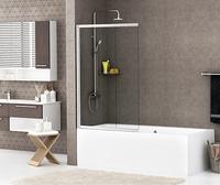 Шторка в ванну WasserKRAFT Main 41S02-80 WasserSchutz