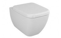 Унитаз подвесной Shift + сиденье с микр., бок. хром. заглушки 540х360мм 4392B003-6047