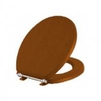 Сиденье для унитаза Efes (Aria) деревянное (орех), без м/лифта, металлические петли), шт 37-016-001