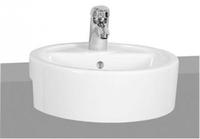 Matrix Раковина круглая полувстраиваемая (белая), 45 см, шт 5146B003-0001