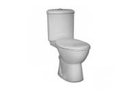 Унитаз напольный Arkitekt угловой + угловой бачок + сиденье для унитаза микролифт 9754B003-7201