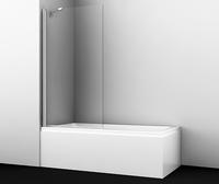 Шторка в ванну WasserKRAFT Berkel 48P01-80 Fixed