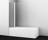Шторка в ванну WasserKRAFT Berkel 48P02-110