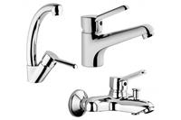 Viva набор смесителей (кухня+раковина+ванна) A49136EXP