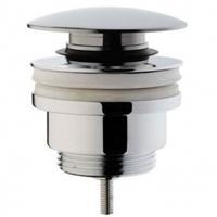 Донный клапан для раковины с переливом (нажимной) A45149EXP
