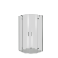 Душевой уголок 100 см. Good Door SATURN R-100-C-CH