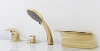 Смеситель в ванную Alpen GRANADA золото AS1304G