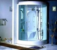 Душевая угловая кабина с ванной Appollo TS-50W