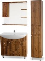 Комплект мебели для ванной комнаты Sanmaria Венге