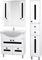 Комплект мебели для ванной комнаты Sanmaria Париж со вставками