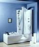 Душевая прямоугольная кабина с ванной Appollo A-0822/0833