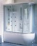 Душевая прямоугольная кабина с ванной Appollo A-0737 (R/L) (правая/левая)