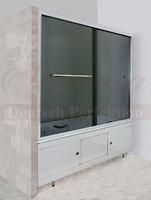 Шторка в ванну PUCSHO VORHANG GREY-3100