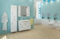 Комплект мебели для ванной комнаты АКВА РОДОС Асоль
