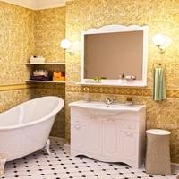 Комплект мебели для ванной комнаты АКВА РОДОС КЛАССИК белый