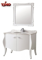 Комплект мебели для ванной комнаты TIMO  Mira White T-19658