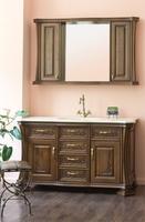 Комплект мебели Аллигатор Classic 125В (цвет 92) зеркало со шкафчиками