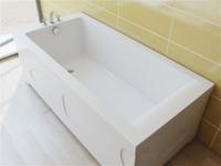 Эстет Дельта 180х80 ванна из литого мрамора