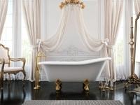 Эстет Царская  1500*730 ванна из литого мрамора