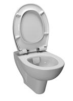 Унитаз подвесной 5741B003-0075 S20 (безободковый) VitrA Flush, белый 52 см