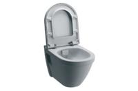 Унитаз подвесной (безободковый)  Flush, белый 52 см 7740B003-0075 S50