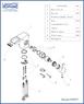 Смеситель для раковины WasserKRAFT Berkel 4869 Kаскадный