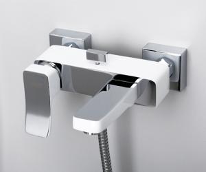 Смеситель в ванную WasserKRAFT Aller 1061WHITE