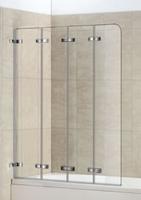 Шторка в ванну WeltWasser серия WW100 Арт. 100ZD4-100