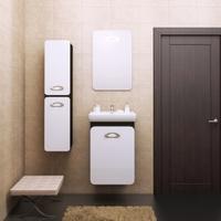 Комплект мебели для ванной комнаты OPADIRIS ТОРА 50 БЕЛЫЙ ГЛЯНЦЕВЫЙ