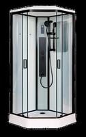 Душевая кабина 100 см. Niagara  NG- 6902-01GD BLACK