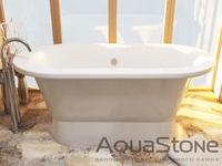 AquaStone Венеция ванна из литого мрамора