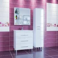 Комплект мебели СаНта Вегас 75 напольный с зеркальным шкафом Дублин 75