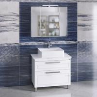 Комплект мебели СаНта Нептун 90 напольный со столешницей