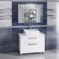Комплект мебели СаНта Нептун 100 напольный со столешницей