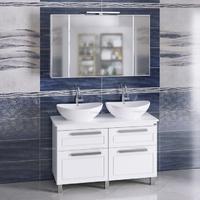 Комплект мебели СаНта Нептун 120 напольный со столешницей