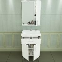 Комплект мебели для ванной комнаты СаНта Дублин 60 с 1 ящиком зеркало левое