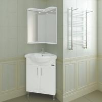 Комплект мебели для ванной комнаты СаНта угловой Аврора