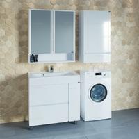 Комплект мебели СаНта Марс 80 с умывальником Elen 80