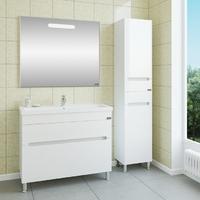 Комплект мебели СаНта Лондон 100 напольный с зеркалом Лондон 100