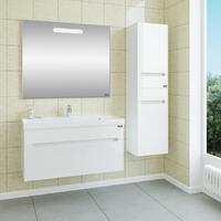 Комплект мебели СаНта подвесной Лондон 100 с зеркалом Лондон 100