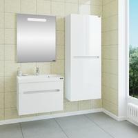 Комплект мебели СаНта Лондон 70 подвесной с зеркалом Лондон 70