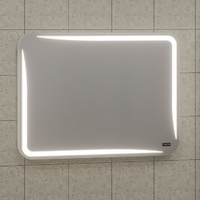 Зеркало в ванную комнату СаНта Юпитер 100 с LED-подсветкой