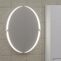 Зеркало в ванную комнату СаНта Сатурн 60 с LED-подсветкой