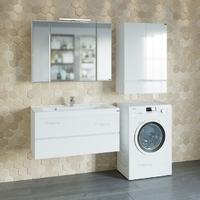 Комплект мебели СаНта Марс 100 подвесной с умывальником Elen 100