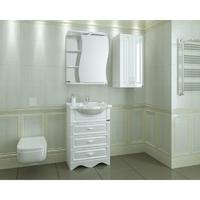 Комплект мебели для ванной комнаты СаНта Верона 60 3 ящика