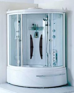 Душевая угловая кабина с ванной Appollo A-0812