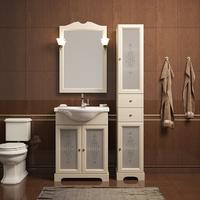 Комплект мебели для ванной комнаты OPADIRIS КАМА 65 СЛОНОВАЯ КОСТЬ